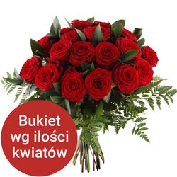 Bukiet 18 róż Telekwiaciarnia